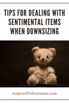 What to Do With Sentimental Belongings When Downsizing | InspiredtoDownsize.com