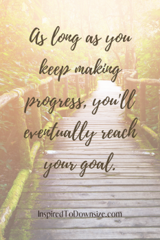 As long as you're making progress, you'll eventually reach your goal. #inspiration #motivation