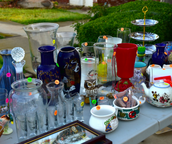 Garage sale photo